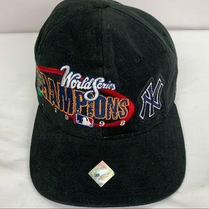 1998 World Series NY Yankees Hat